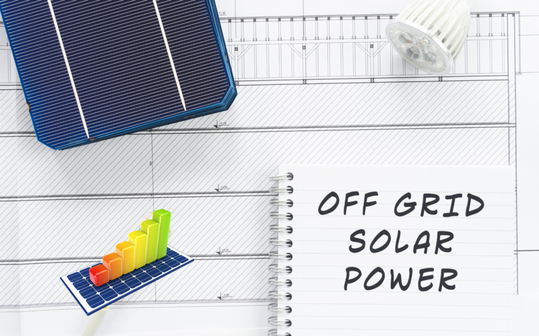 the freedom off living off the grid with solar
