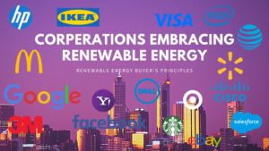Corporations Switching to Renewable Energy