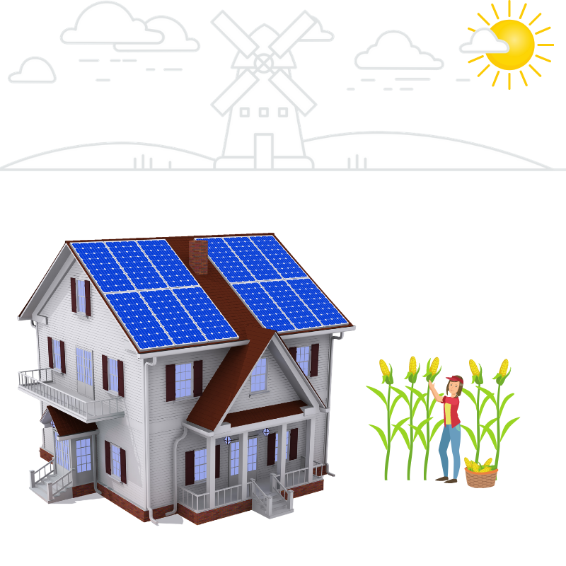 off-grid solar system agriculture